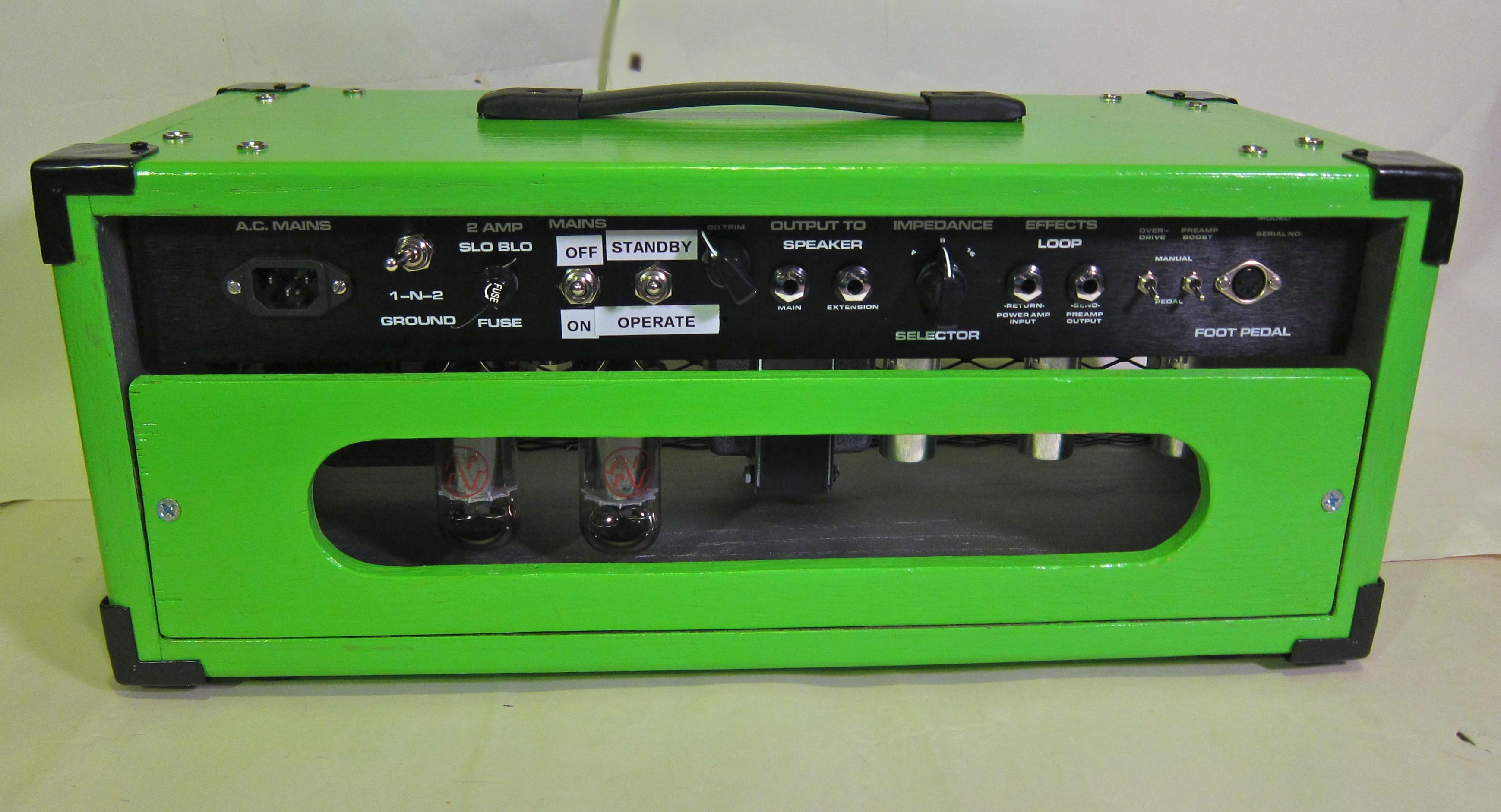 Dumble Speaker Cabinet Fileceriatone Overtone Hrm Bluesmaster 50w In Green Cabinet