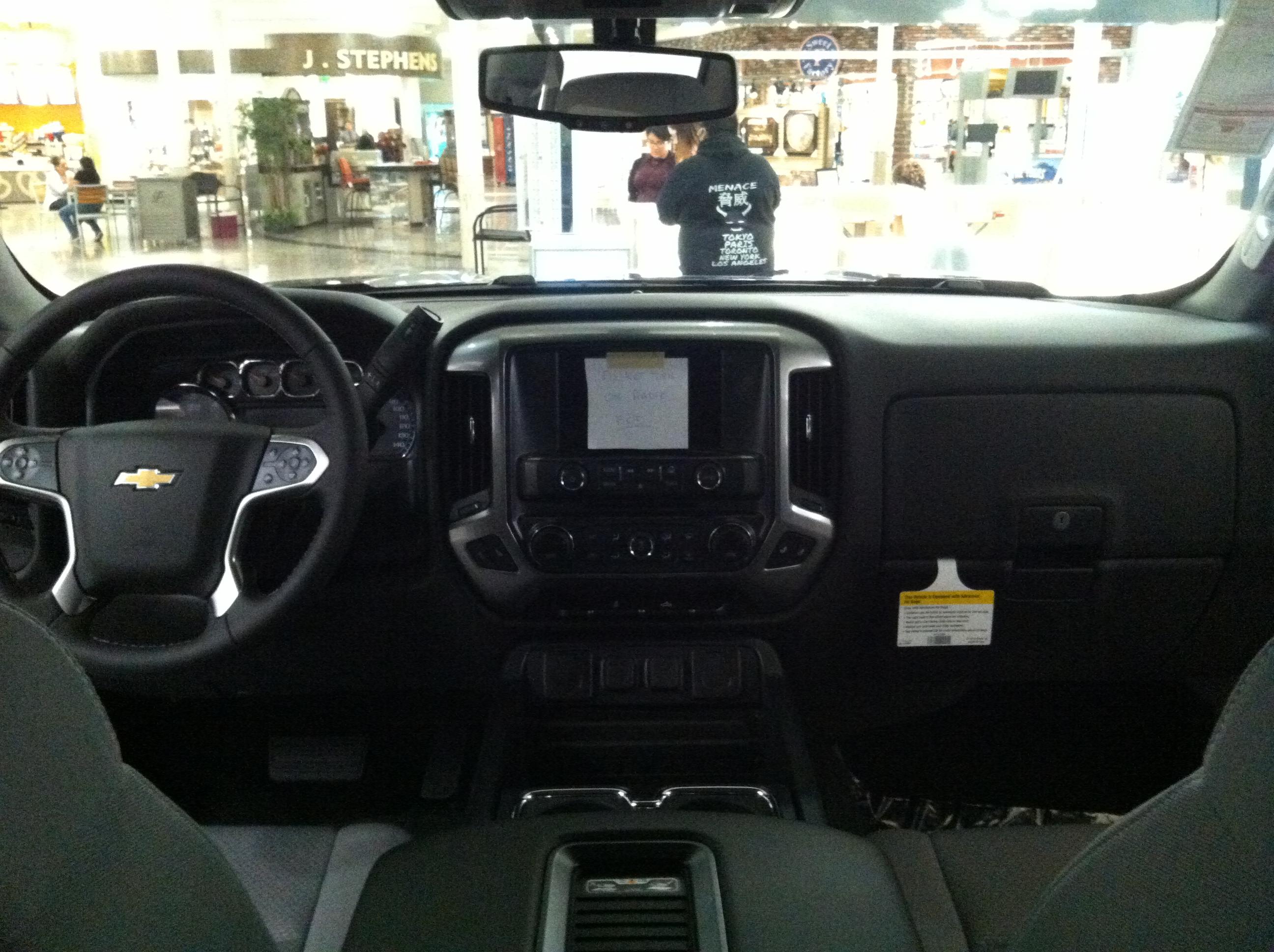 File Chevrolet Silverado 2017 Pickup Truck Interior Jpg Wikimedia
