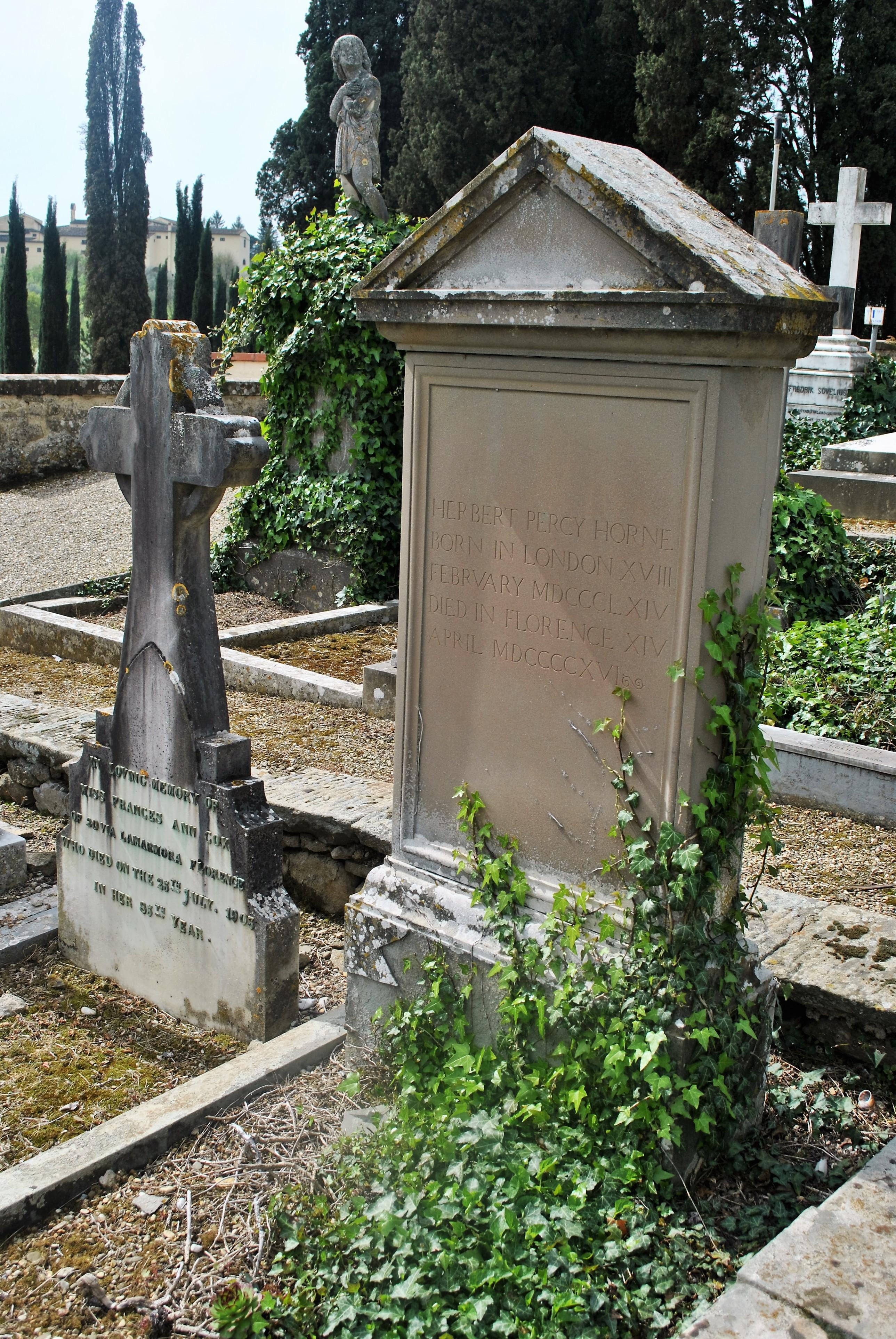 [[Cimitero degli Allori]], Herbert Percy Horne