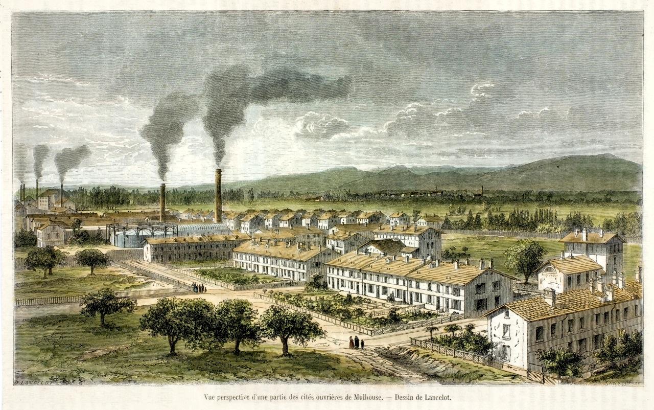 Cité ouvrière - Mulhouse - Mineurs - Usines - Ouvriers - SchoolMouv - Histoire - CM2