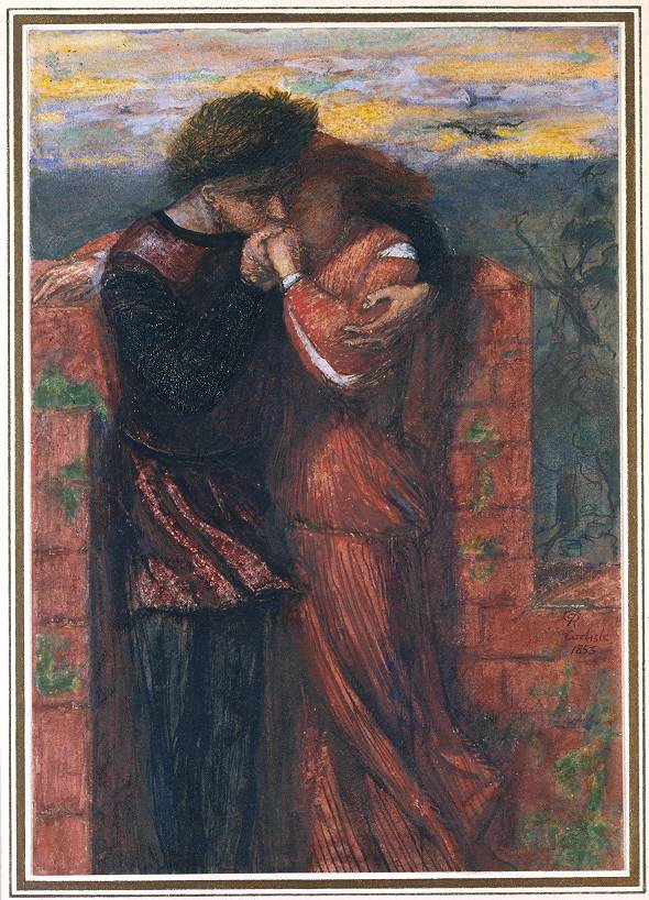 Dante Gabriel Rossetti - Carlisle Wall (The Lovers)