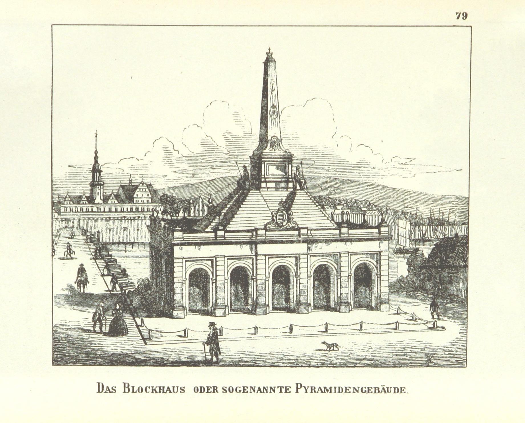 Das Blockhaus file das blockhaus oder sogenannte pyramidengebäude jpg wikimedia