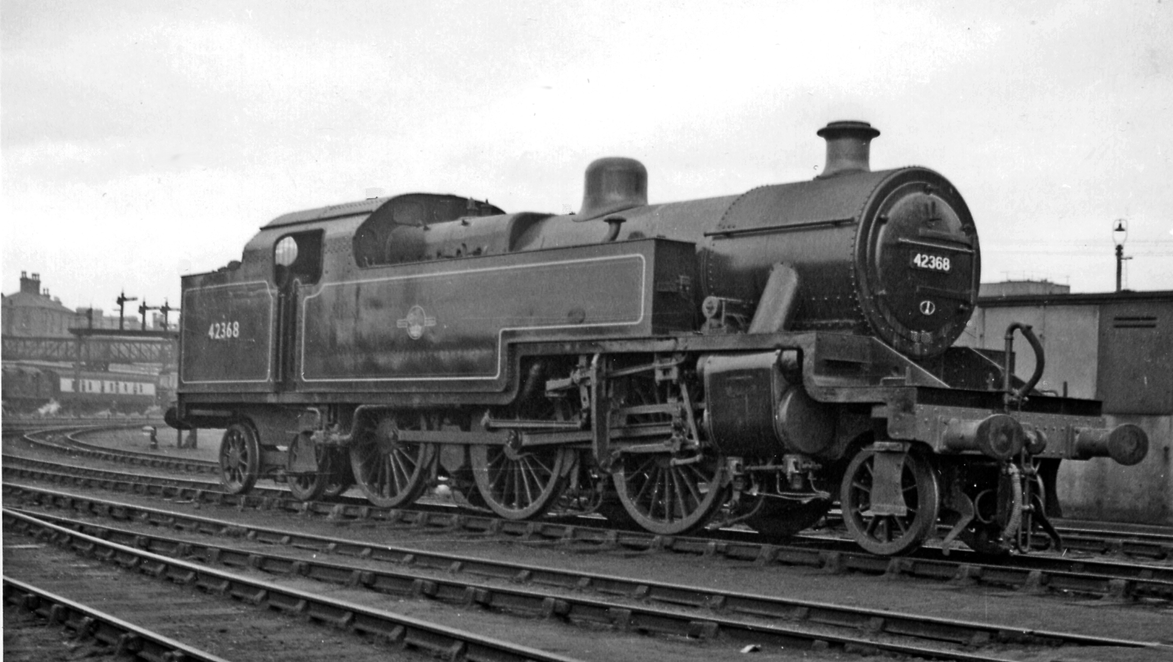 File Derby Locomotive Depot With Lms Fowler 2 6 4t