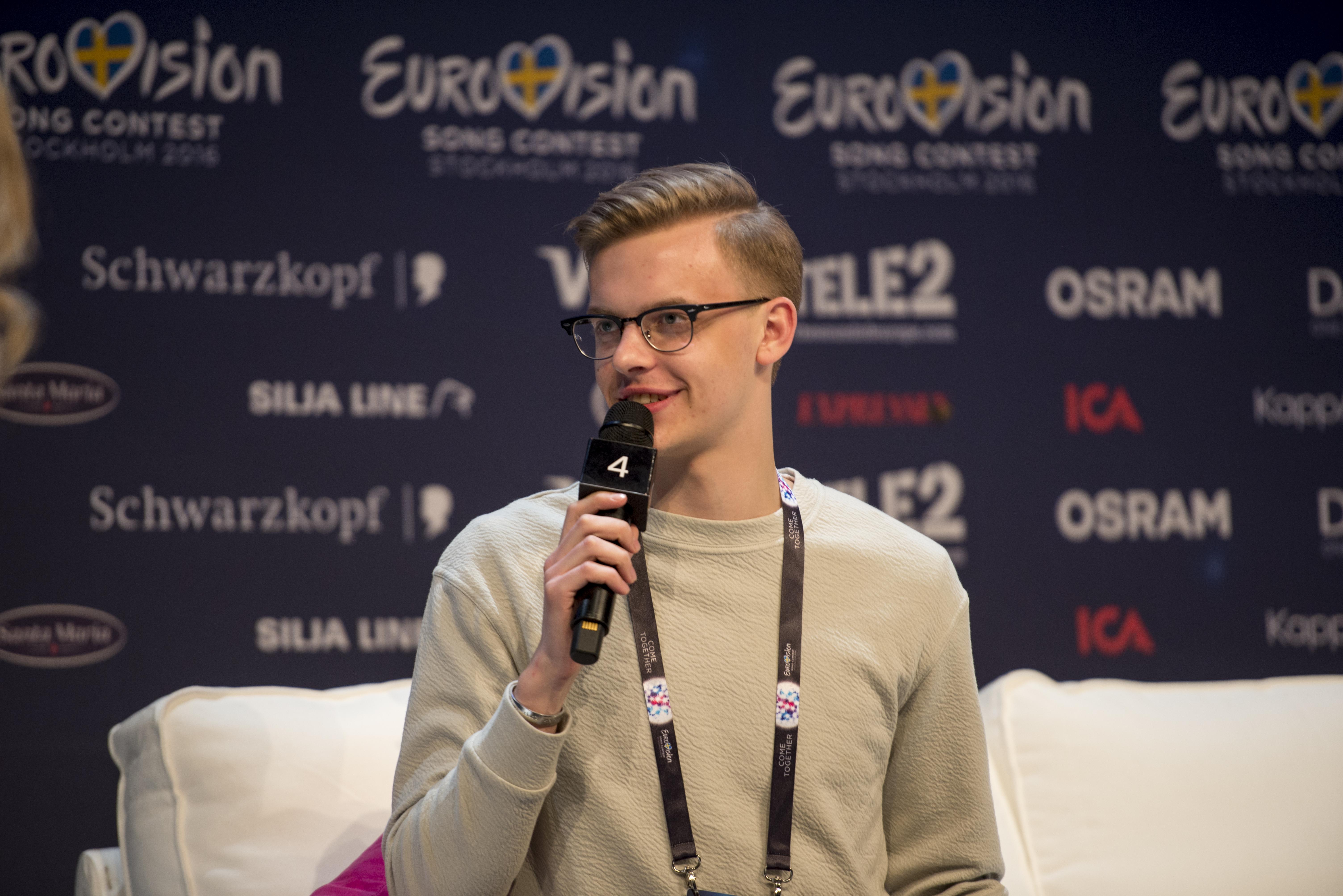 kaelakee hääl eurovisioonil