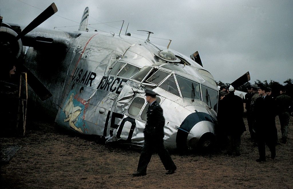 File:Fairchild C-119G Flying Boxcar, USA - Air Force ...