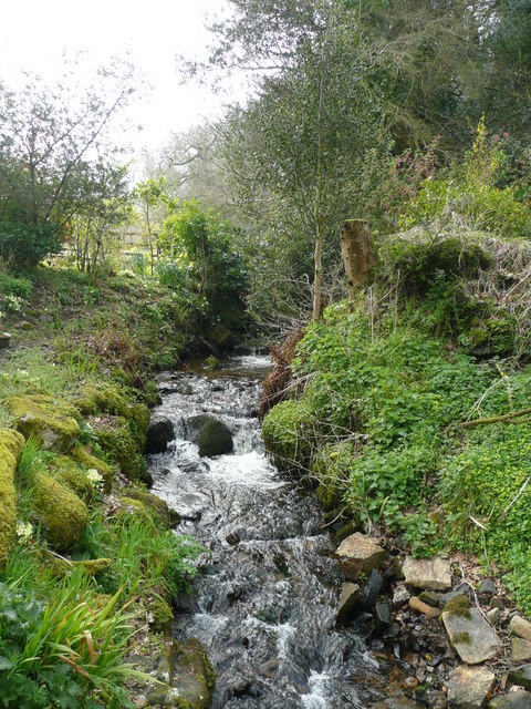 File:Fast-flowing stream - geograph.org.uk - 750123.jpg ...