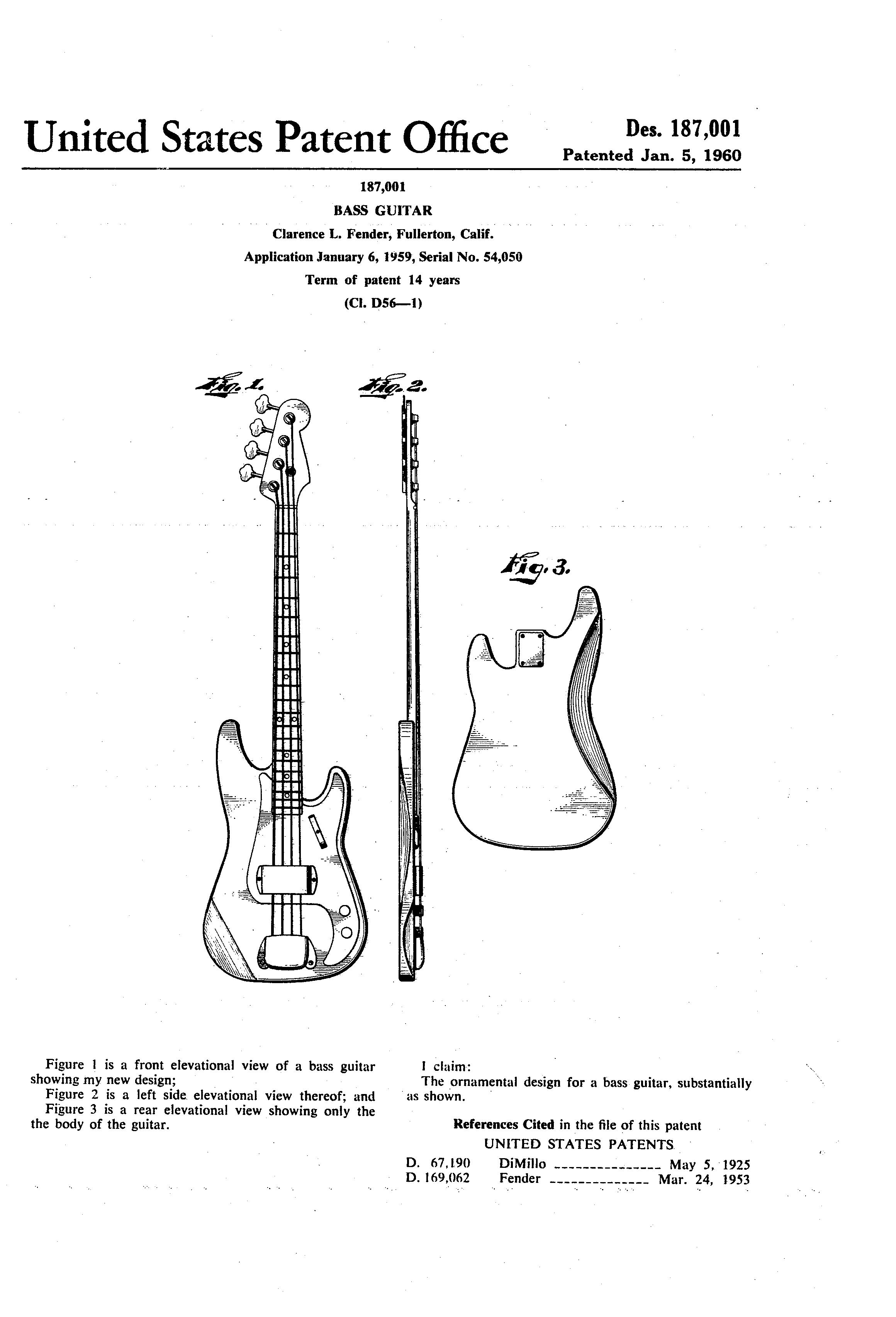 Filefender Bass Guitar Patentg Wikimedia Commons