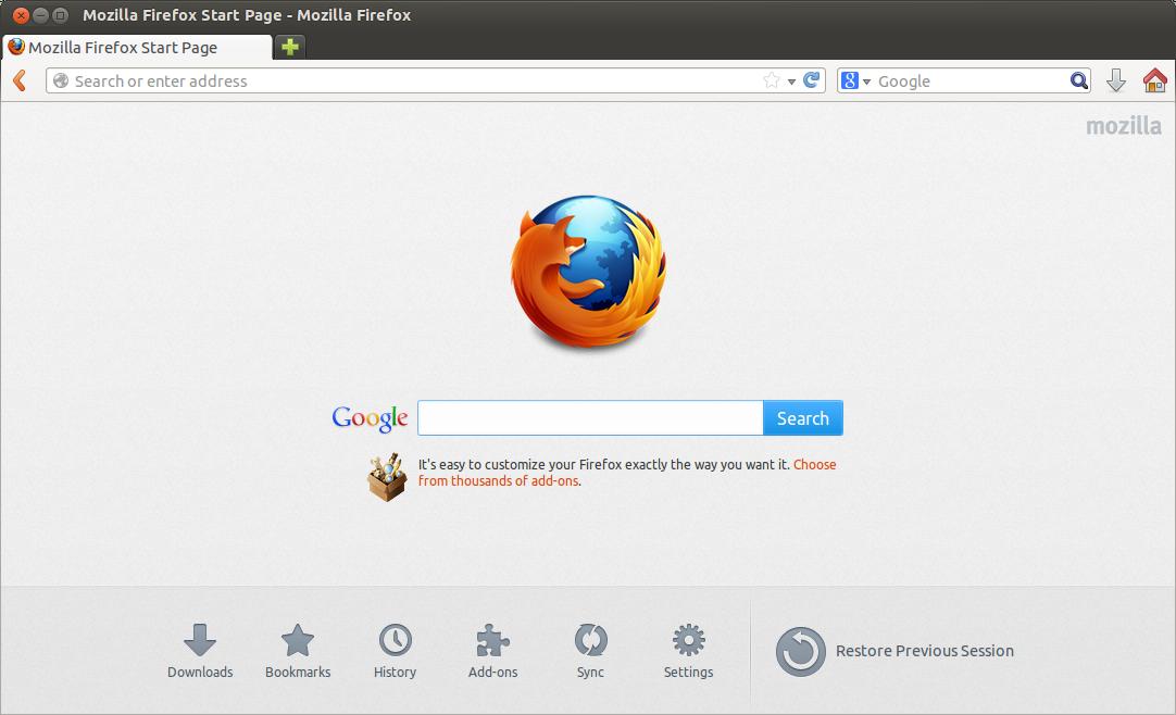 comment installer Firefox sur Linux Ubuntu