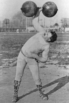 Frederick Winters during 1904 Summer Olympics