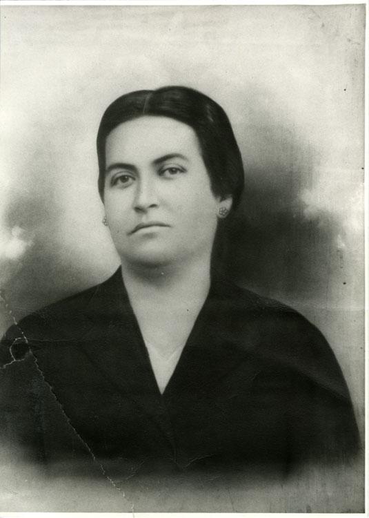 Gabriela Mistral en 1923.