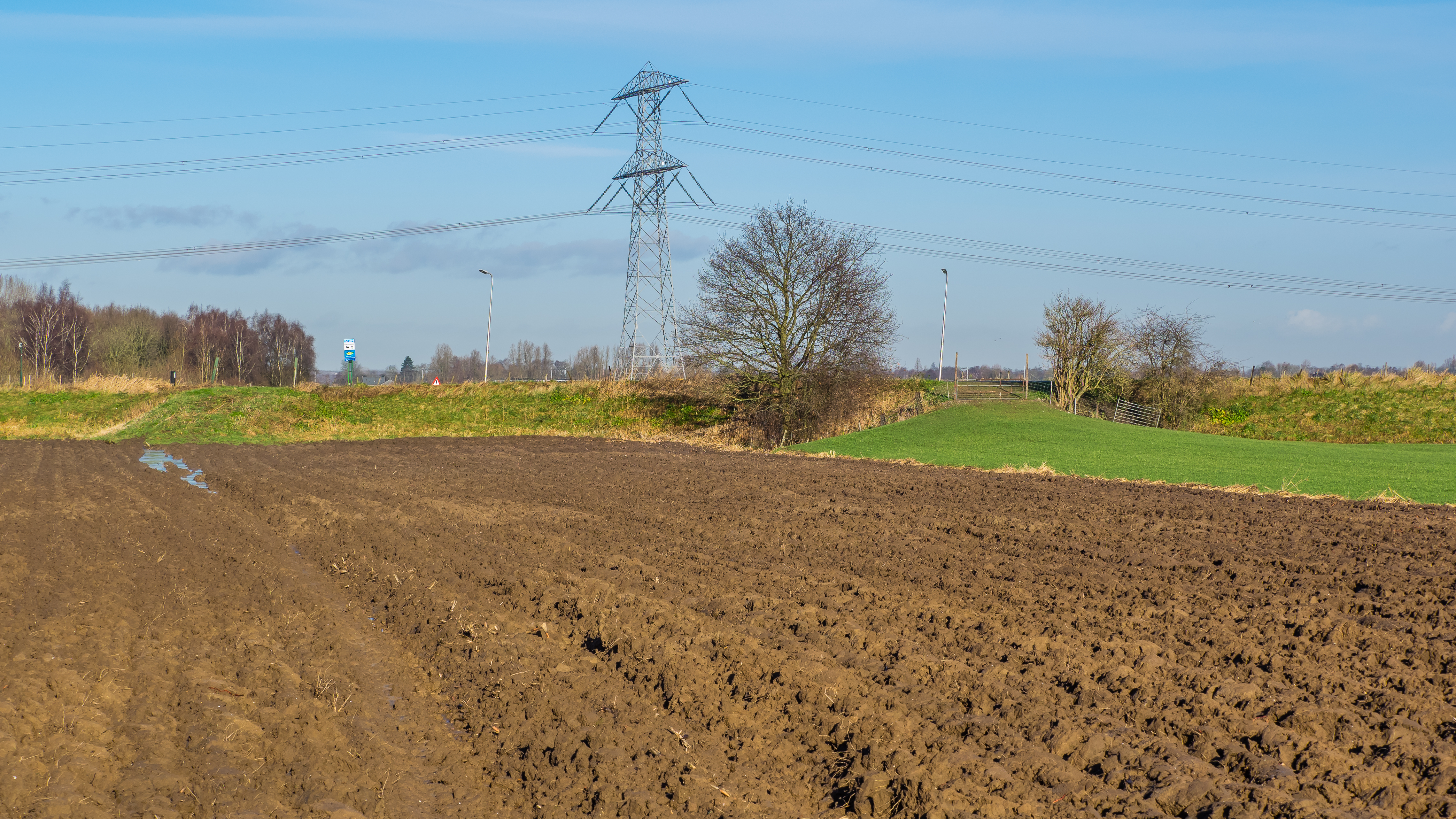 Filegeploegde Akker Plowed Field Steinsedijk Haastrecht