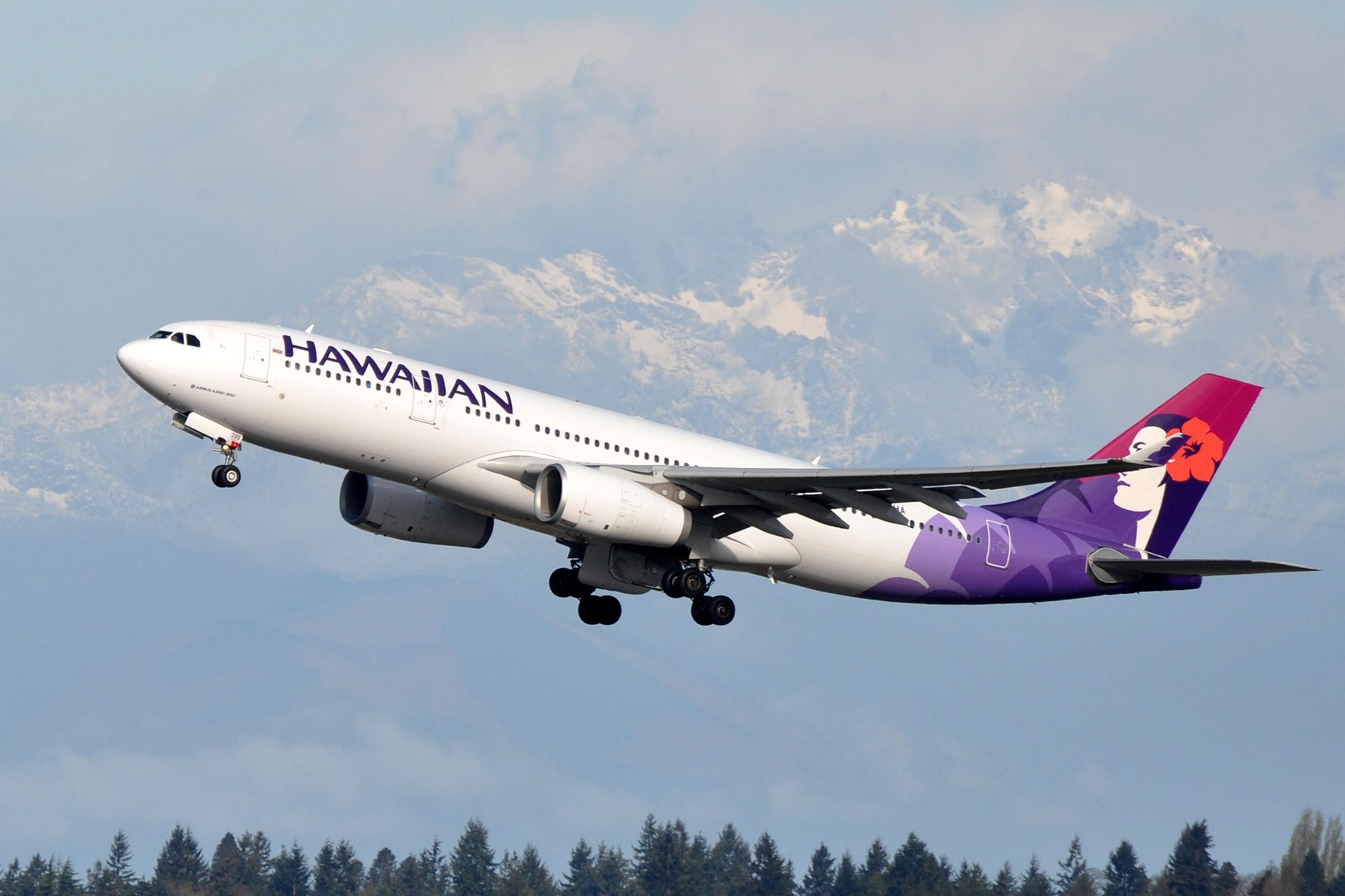 Fichier:Hawaiian Airlines, Airbus A330-243, N395HA - SEA ...