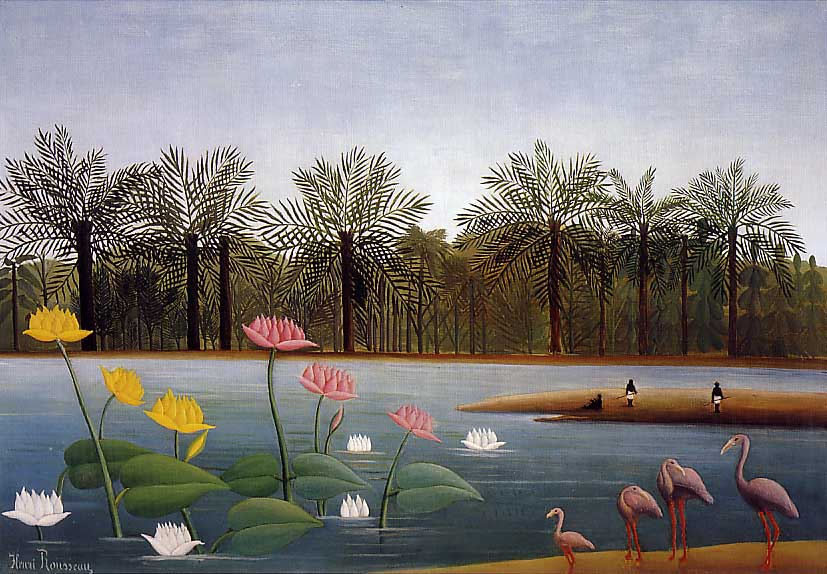 Frank Zweegers- The Flamingoes by Henri Rousseau