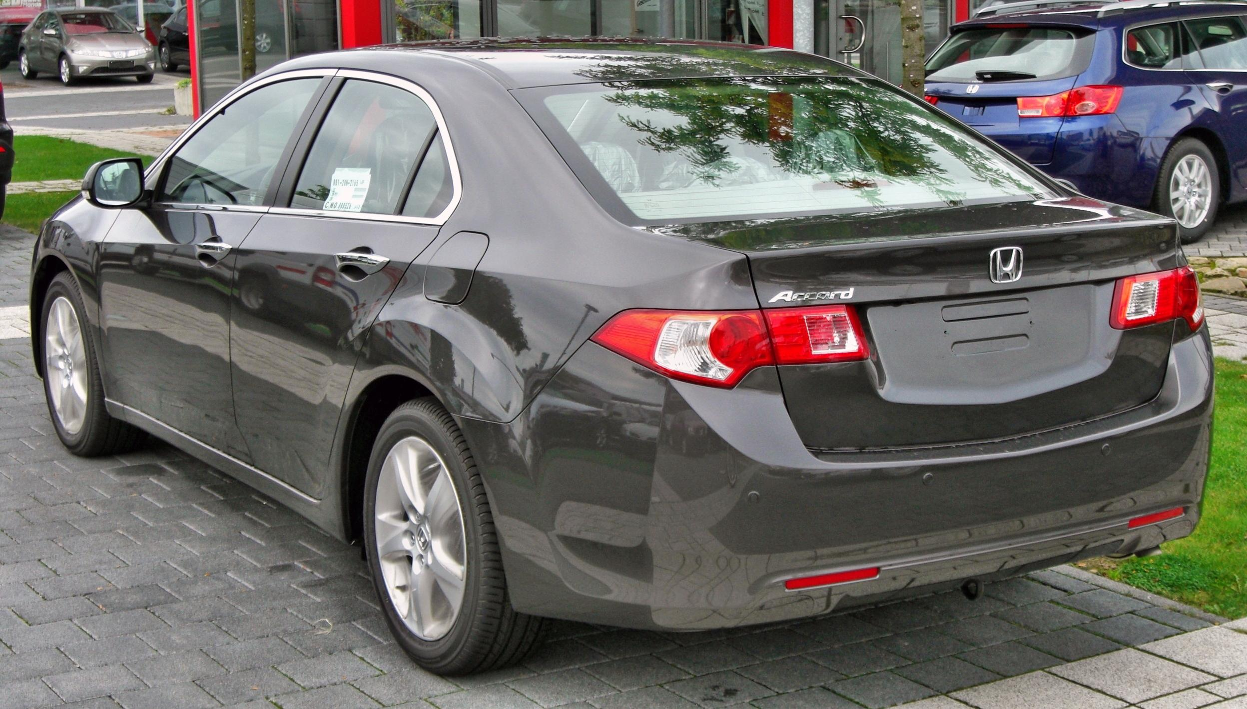 File Honda Accord Viii Rear Jpg Wikimedia Commons
