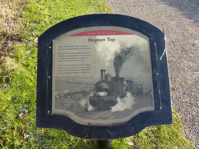 Hopton Top Plaque - geograph.org.uk - 1625877