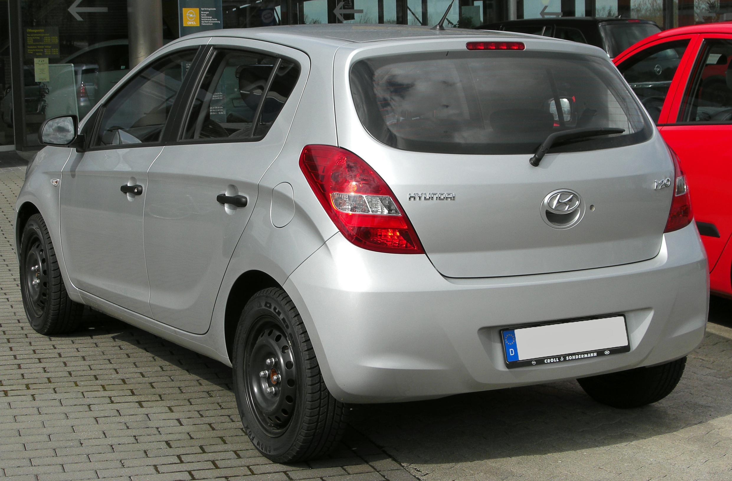 File Hyundai I20 Rear 20100328 Jpg Wikimedia Commons
