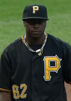 English: Photograph of Josh Harrison of the Pi...