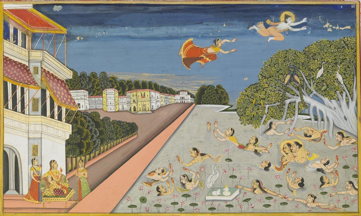 File Jallandharnath And The Princess Padmini Fly Over King