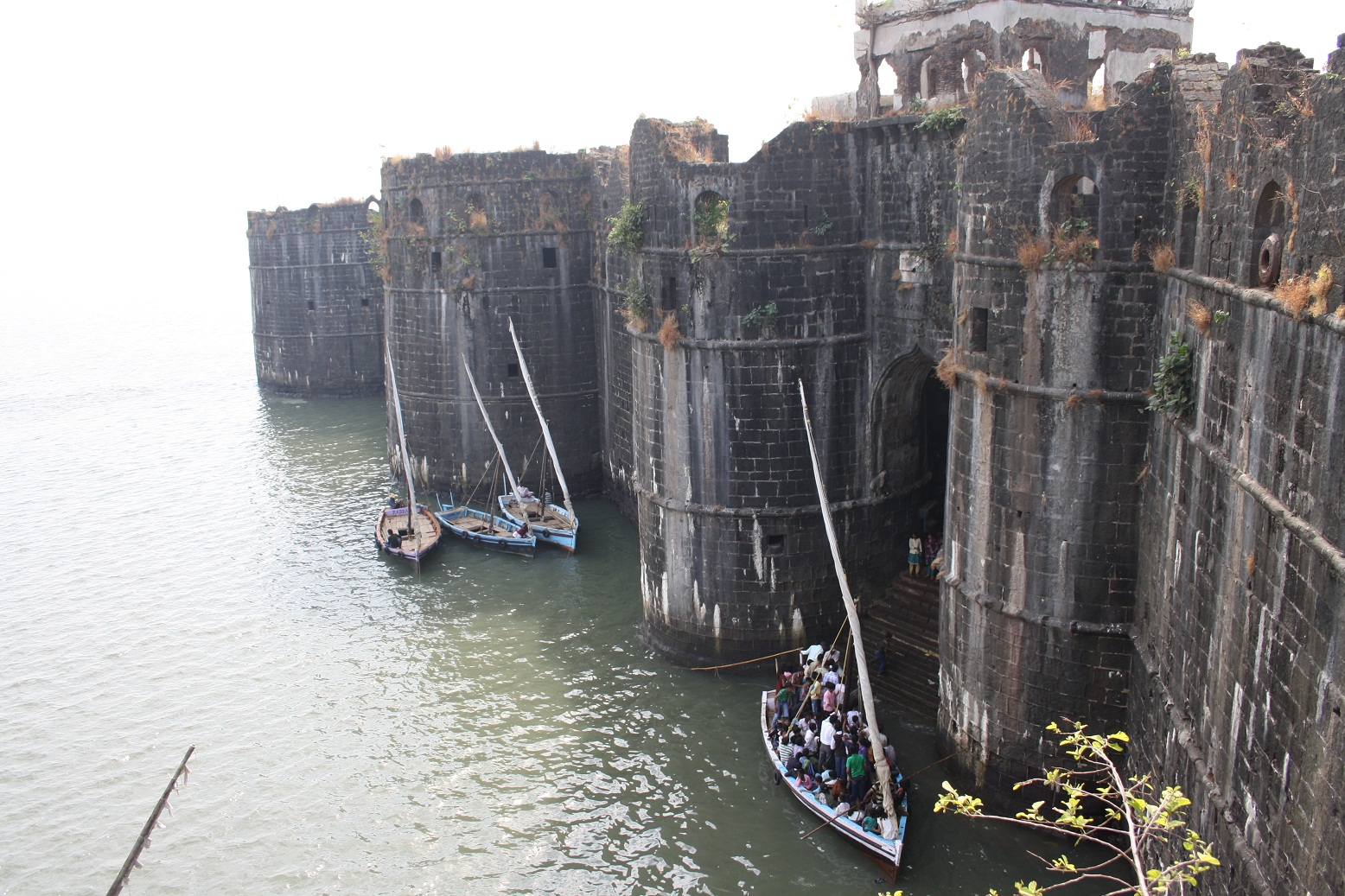 Entrance of Murud Fort