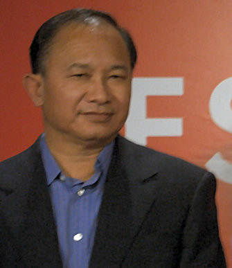 John Woo at Cannes Film Festival in 2005