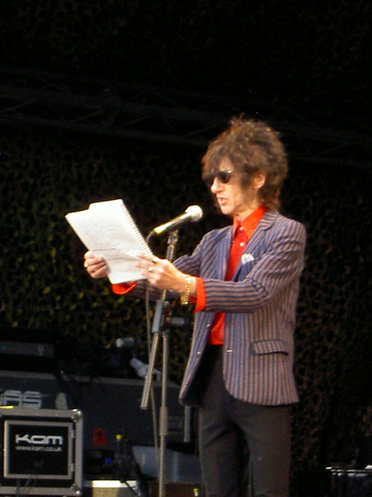 John Cooper Clarke, Mike Garry : Belfast : Live review