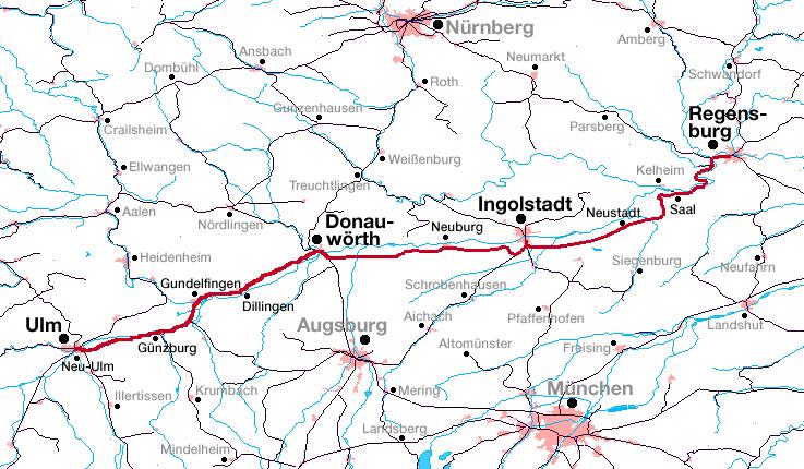Danube valley railway bavaria wikipedia for Depot regensburg
