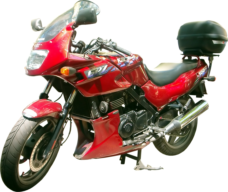 Kawasaki GPZ 500 S 1995 For sale - YouTube