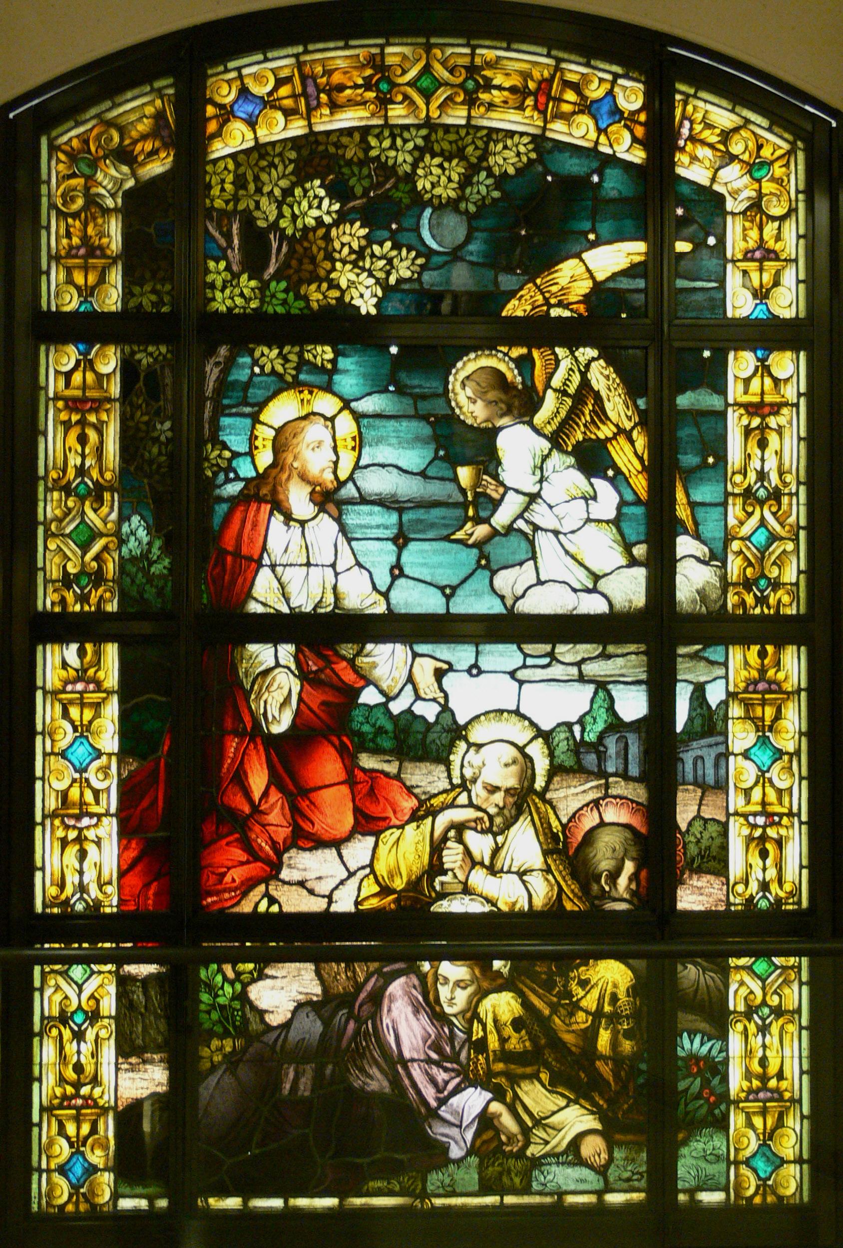 File La Cathedral Mausoleum Garden Of Gethsemane Jpg
