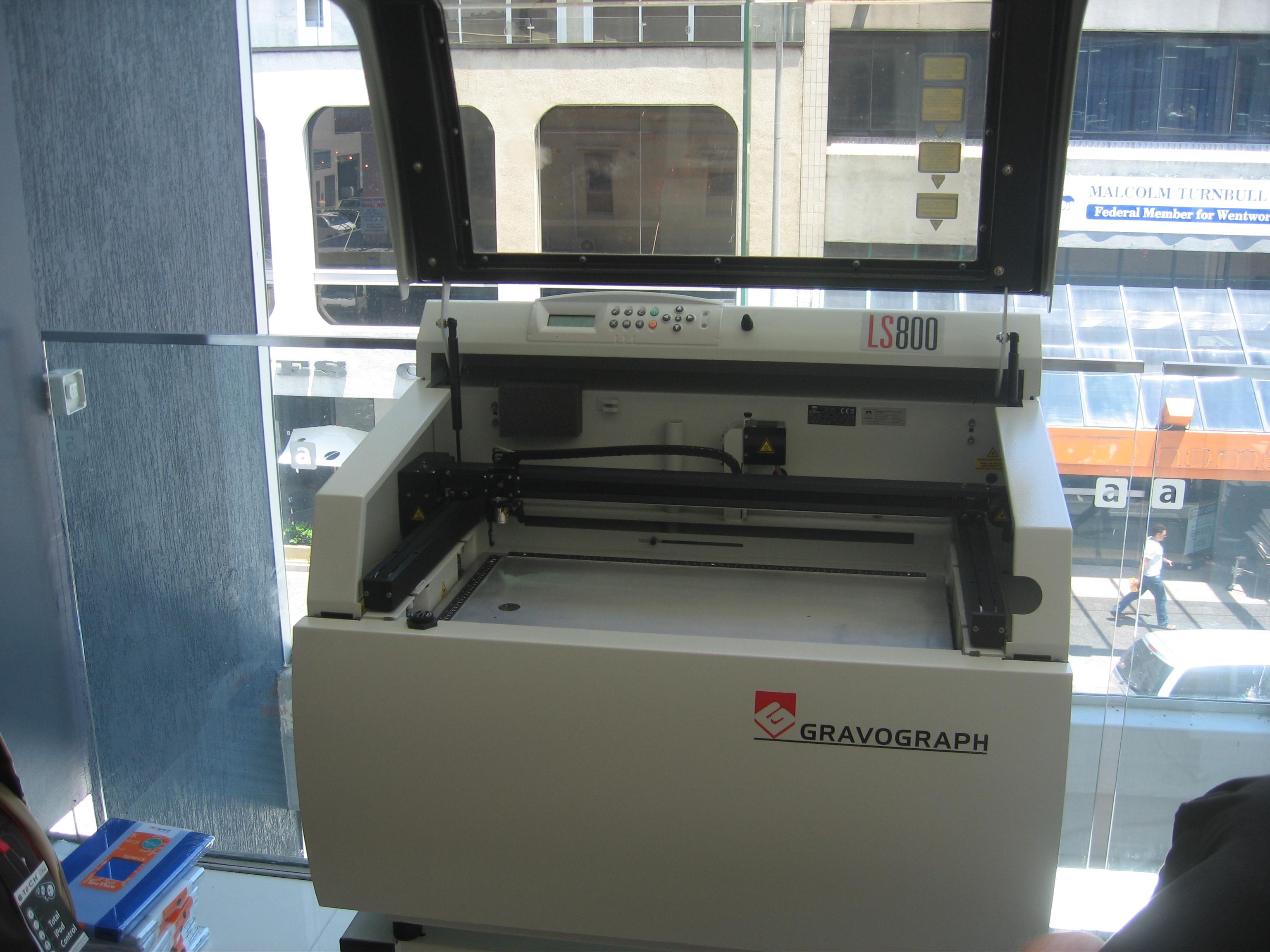 laser engraver engraving machine