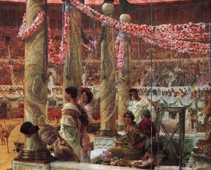 Un peintre qui aurait pu influencer Jacques Martin ? Lawrence_Alma-Tadema_Caracalla_and_Geta