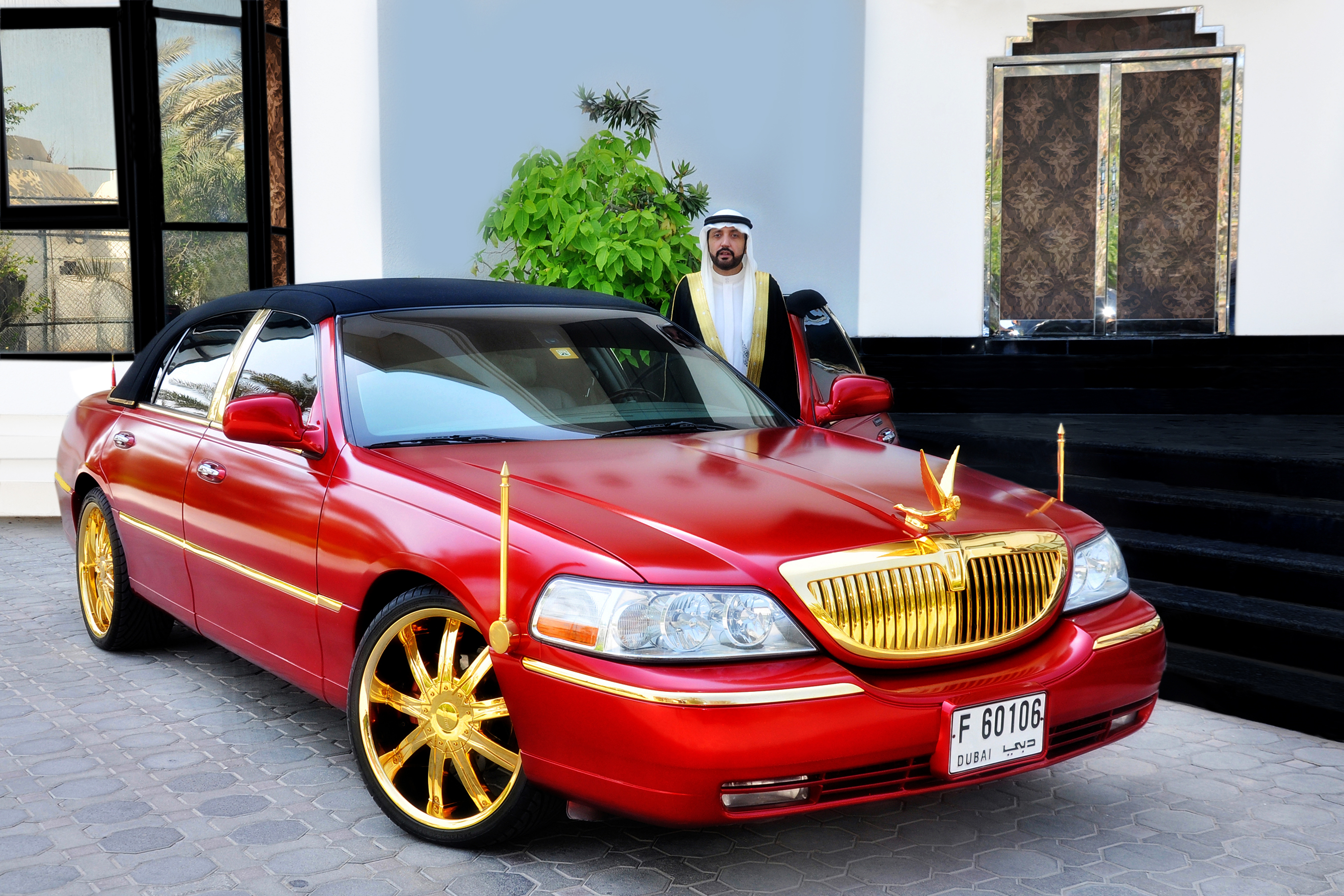 File Lincoln Town Car Cartier Edition With 24 Carat Gold Plated Jpg
