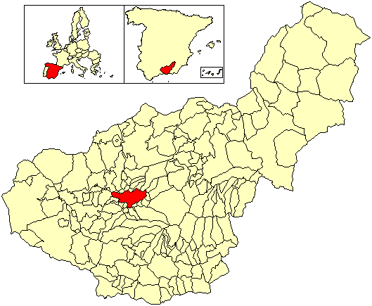 Waihona:LocationGranada, Spain.png