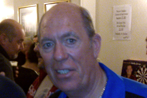 John Lowe (pictured in 2009) was eliminated in the second round of the tournament Lowe, John.jpg