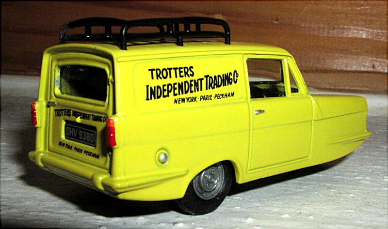 Reliant Supervan  English Mail Car