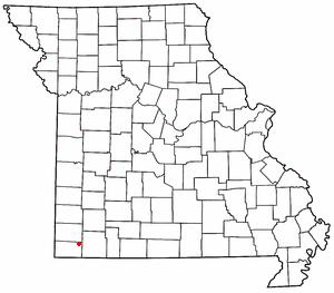 Rocky Comfort, Missouri unincorporated community in Missouri