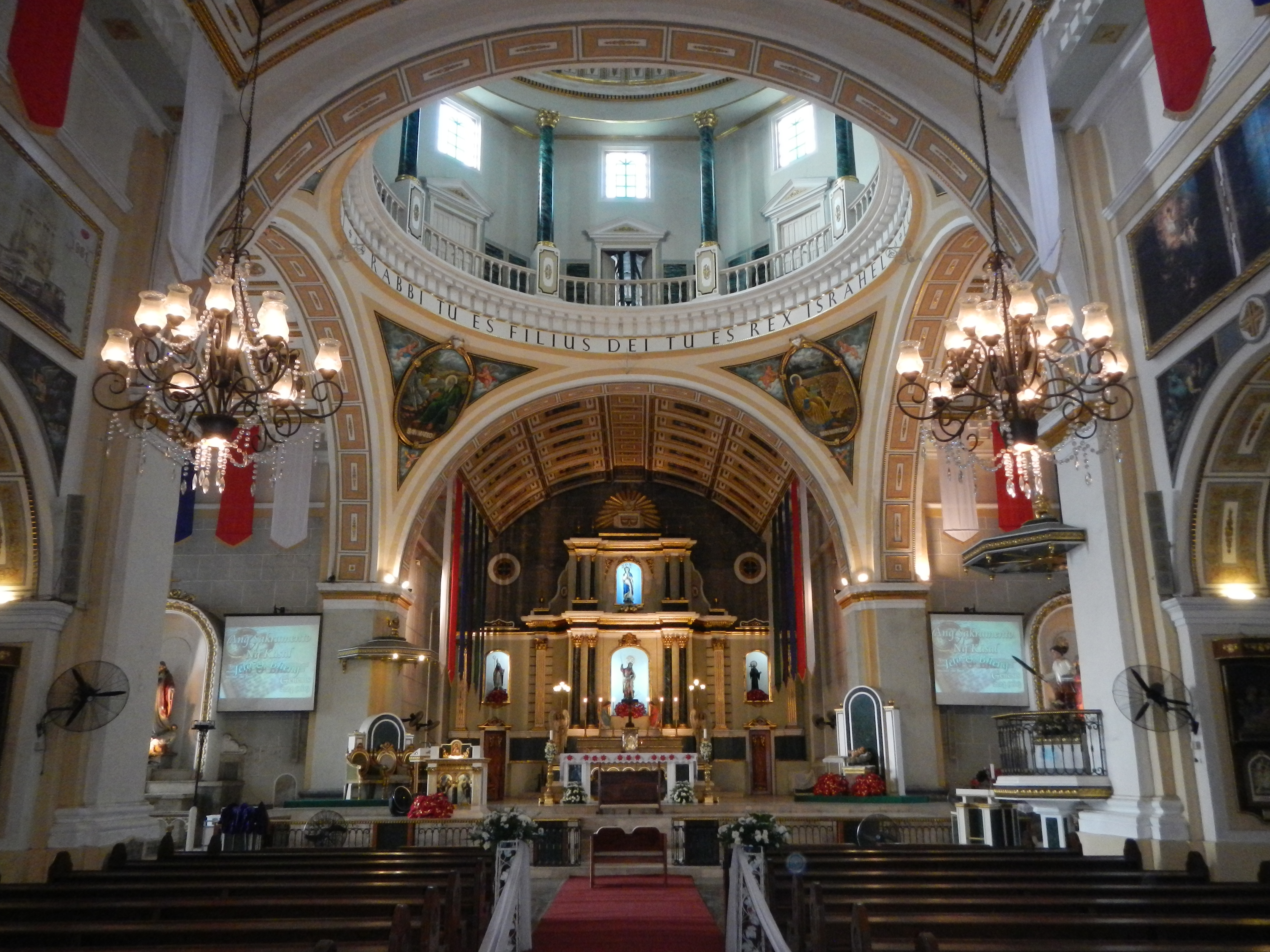 File:Malabon Church of San Bartolome interior.jpg ...
