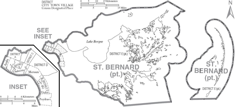 St Bernard Parish Property Assessor