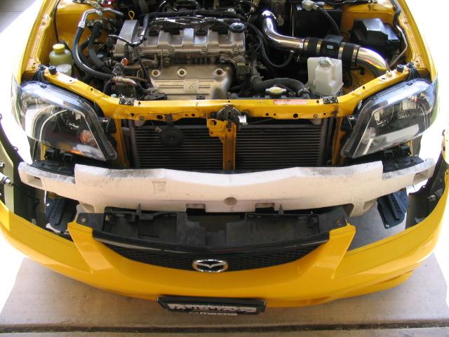 Mazda Guide  Protege 5  Headlight Blackout