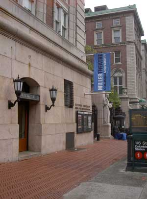 Miller Theatre at Columbia University