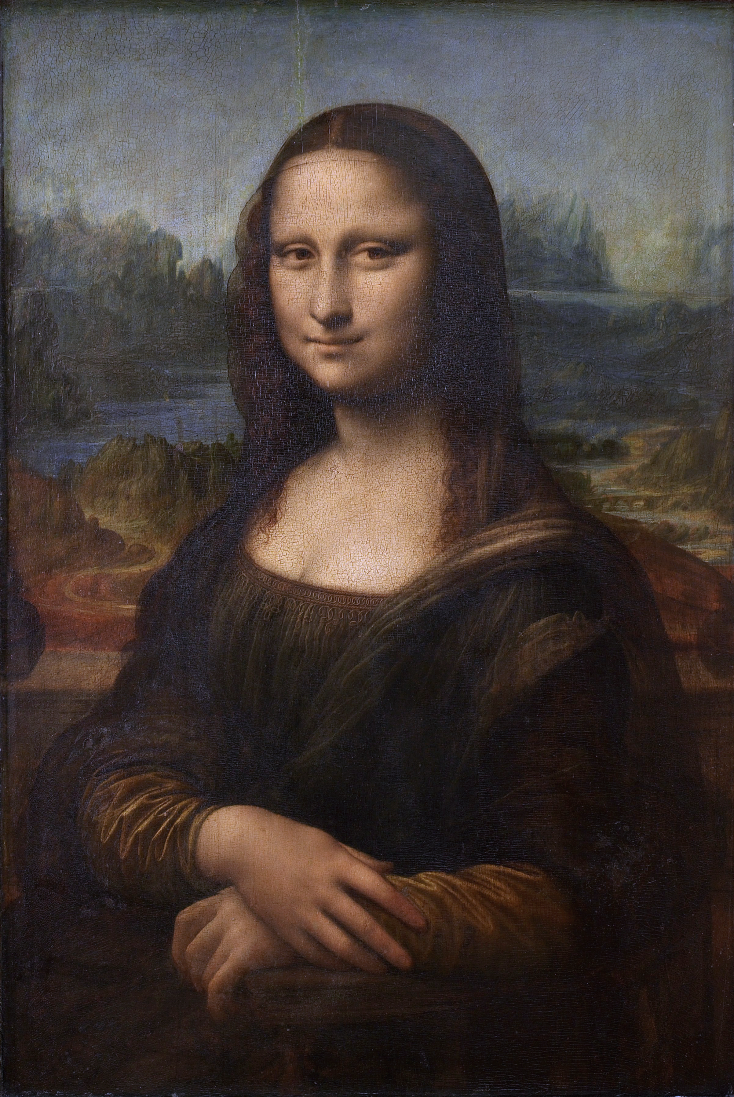 Til That The Mona Lisa Has No Eyebrows Or Eyelashes Todayilearned