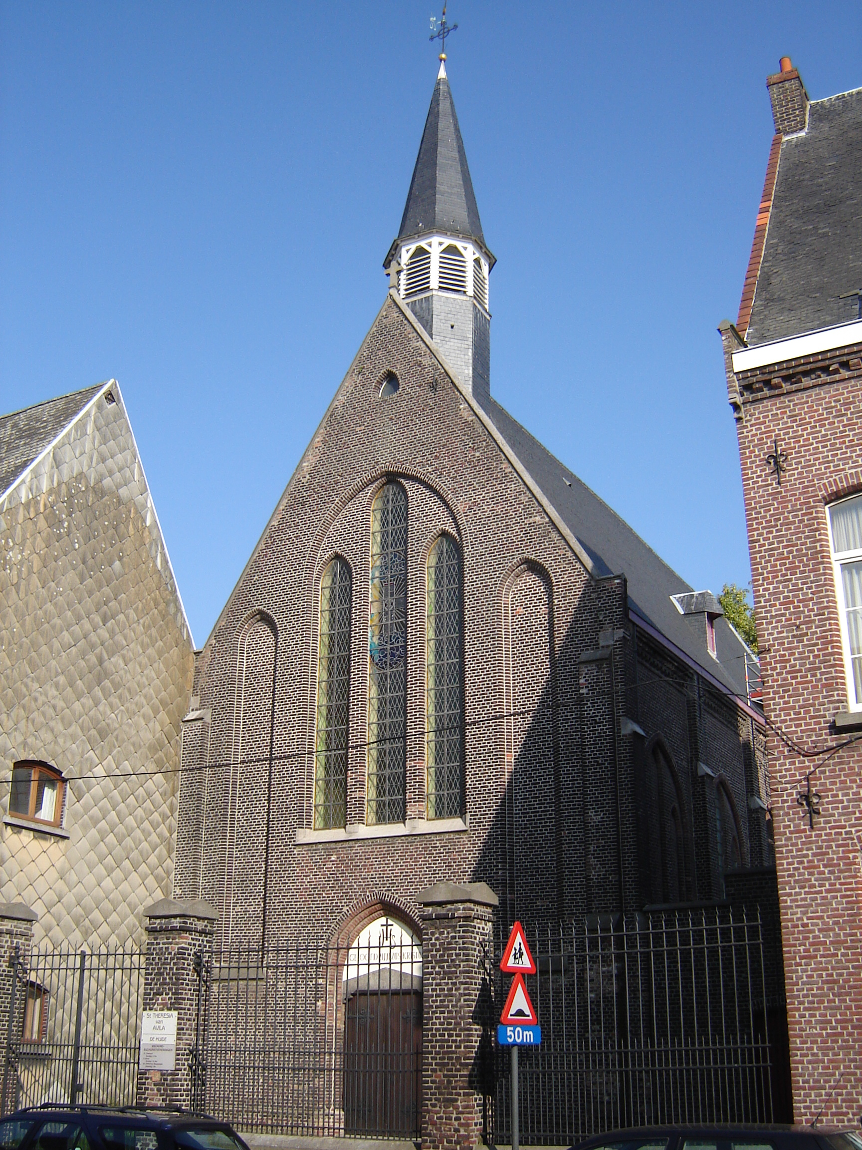 Filemuide Sint Theresia Van Avilakerk 1jpg Wikimedia