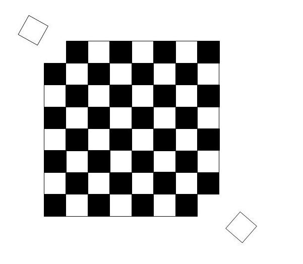 Mutilated checkerboard 3