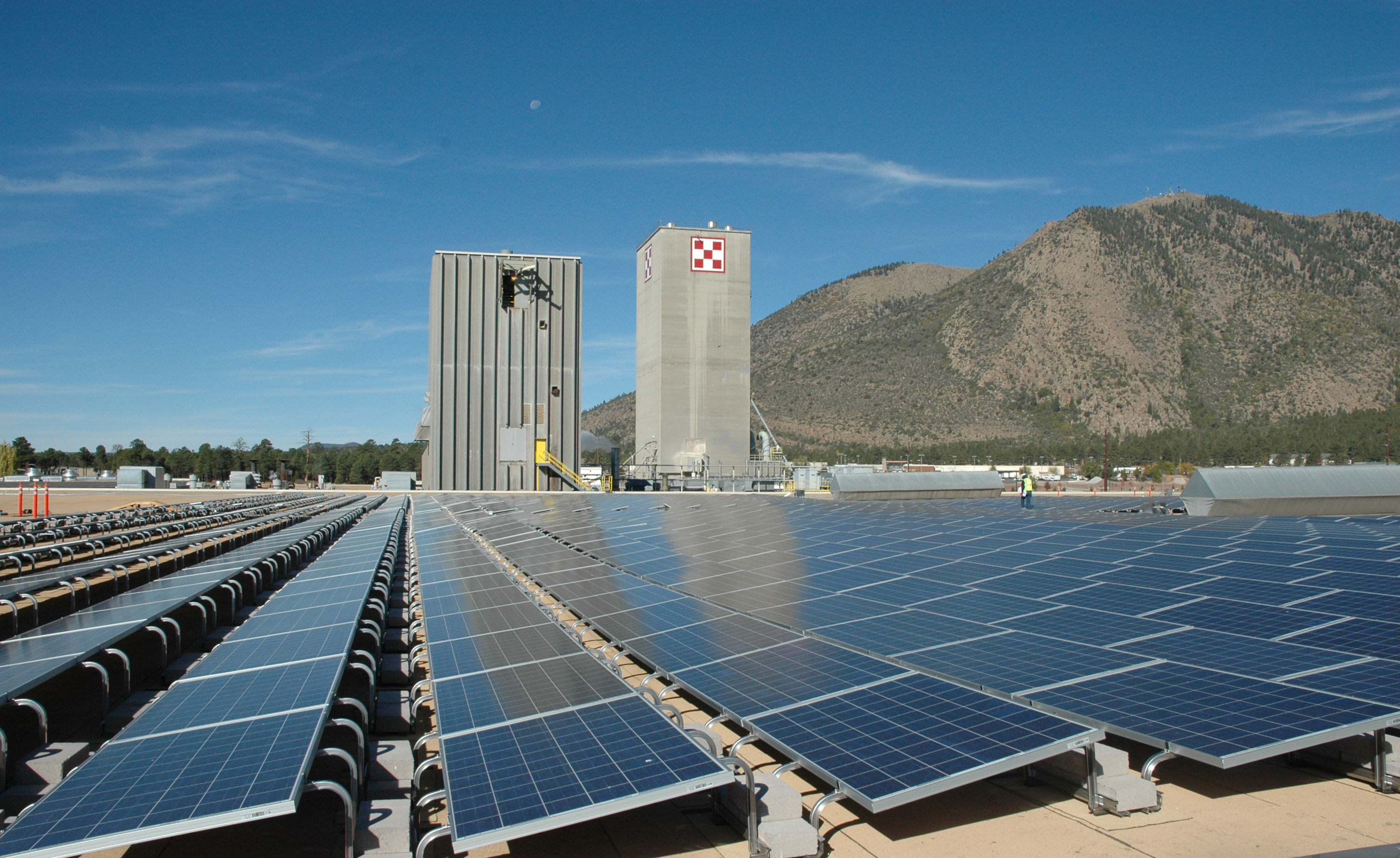File nestle purina 39 s solar farm in wikipedia for Solar ranch