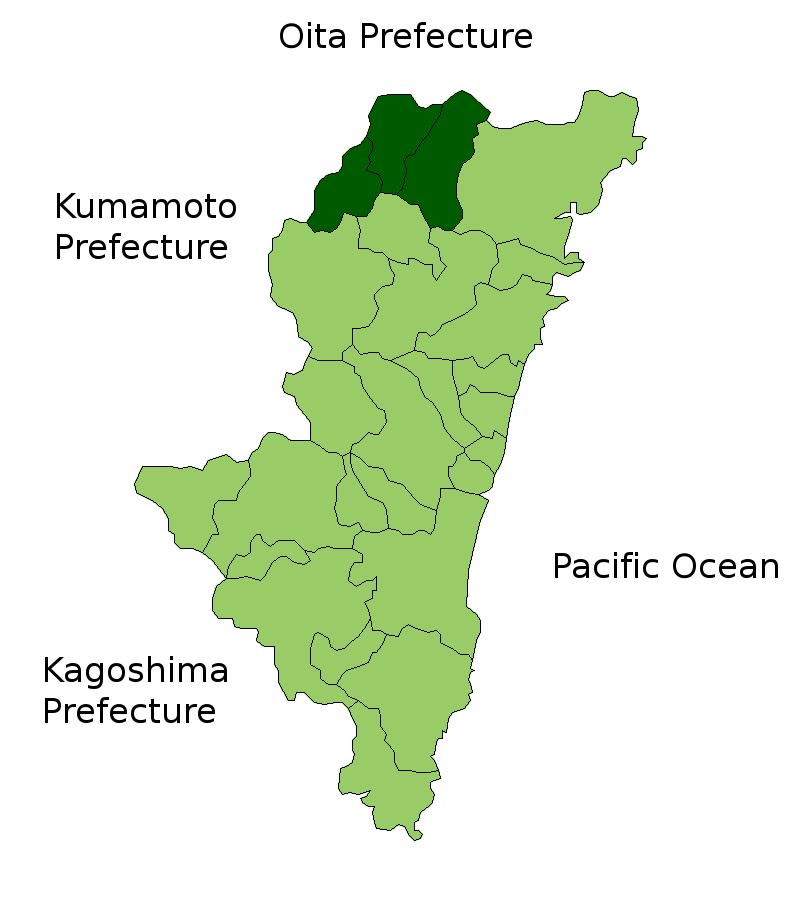 Nishiusuki District, Miyazaki