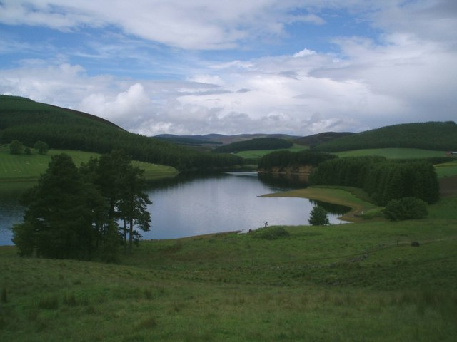 Northern end of Backwater Reservoir - geograph.org.uk - 483810