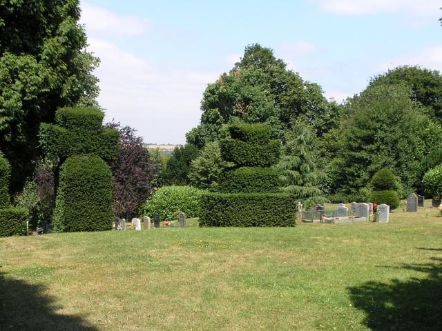 Nutfield Cemetery - geograph.org.uk - 29279