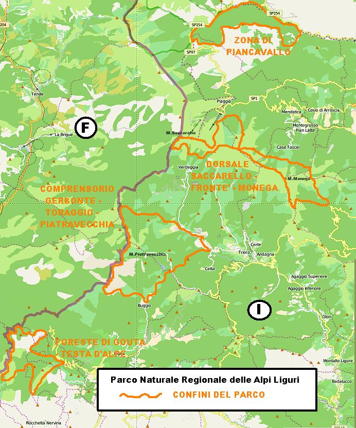 Parco Naturale Regionale Delle Alpi Liguri Wikiwand