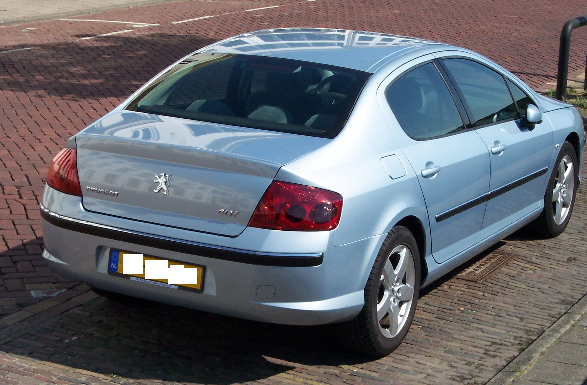 File Peugeot 407 Silver Hr Jpg Wikimedia Commons