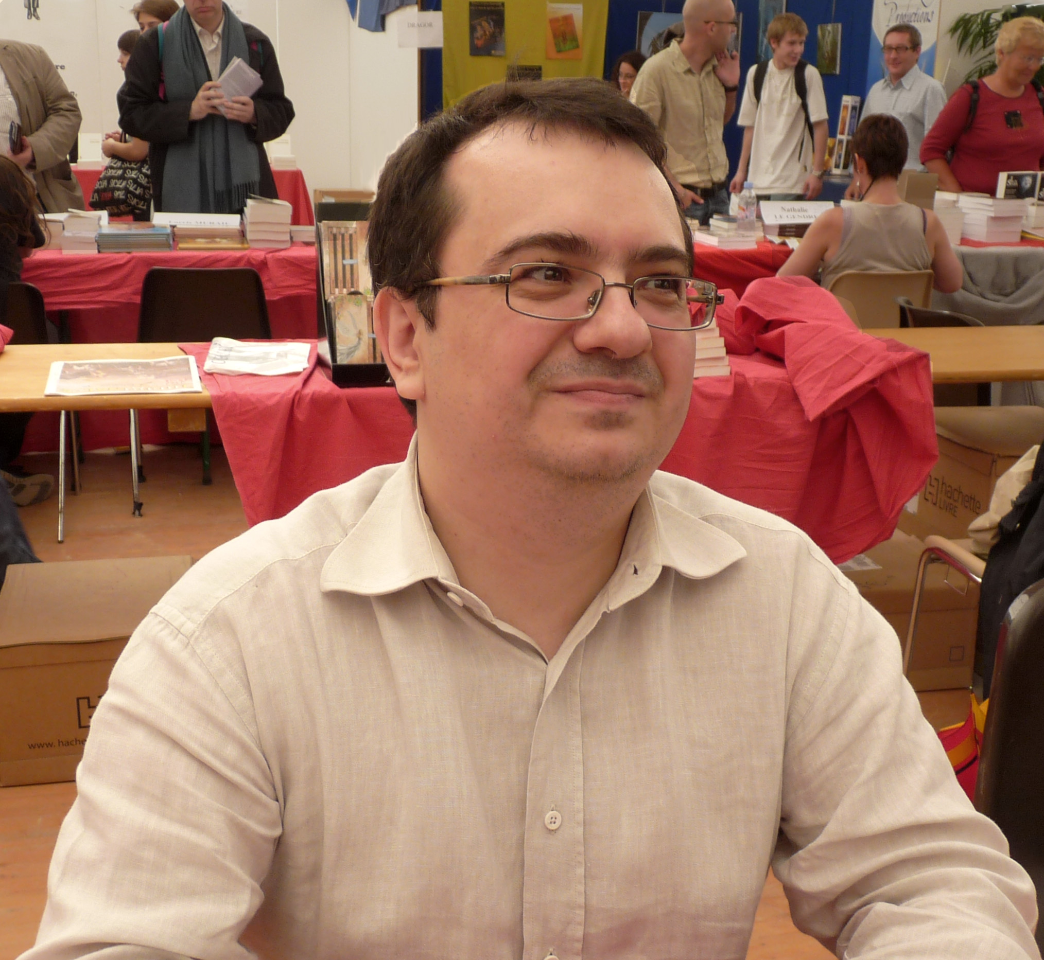 Pevel at Imaginales 2010.