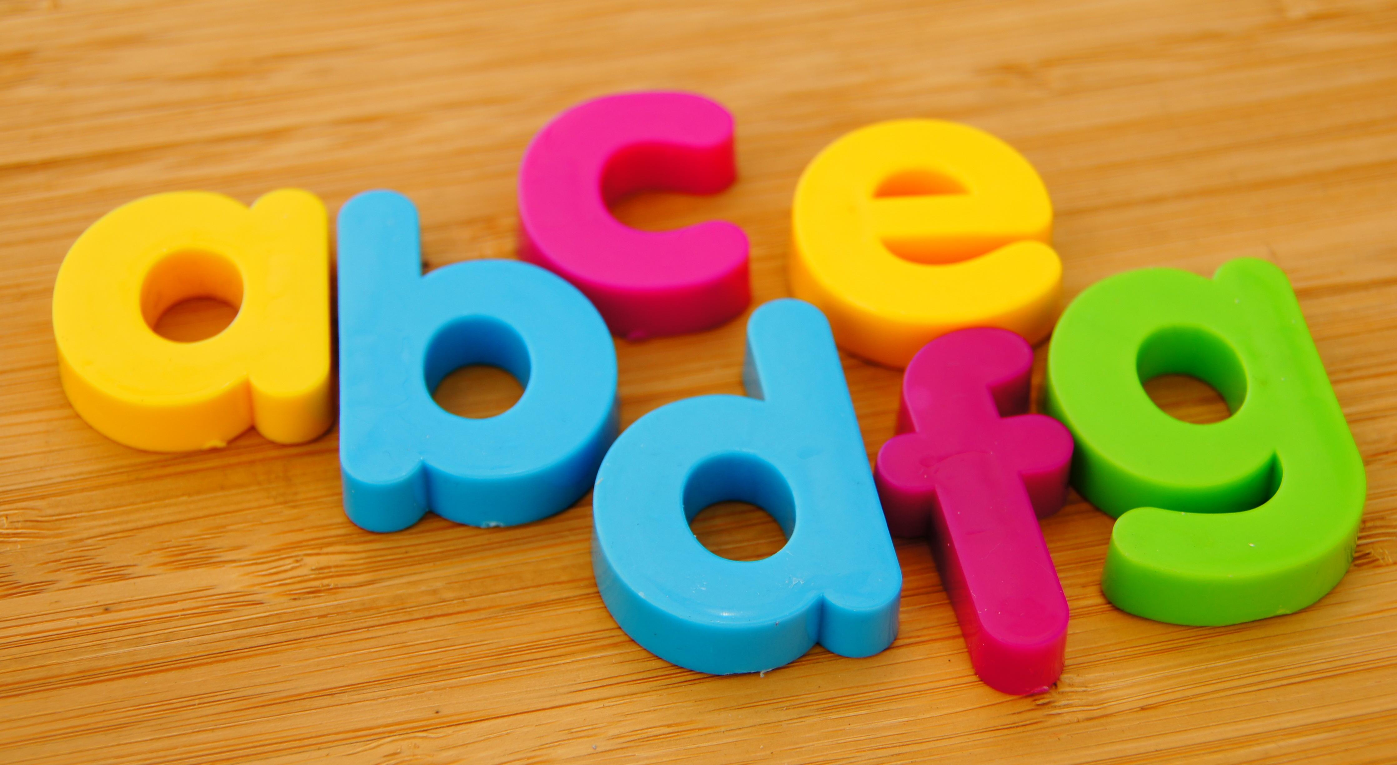Plastic Alphabet Letters India